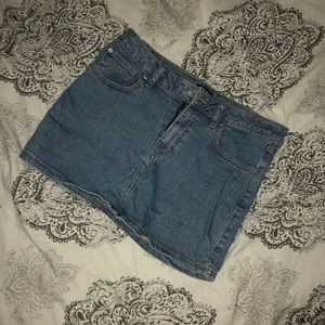 Urban Outfitters Mini Jean Skirt
